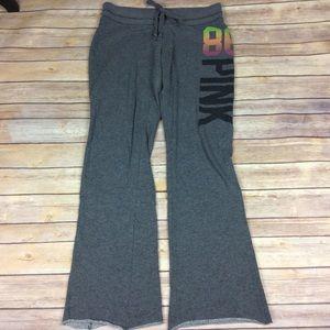 Pink Victorias Secret Small dark Gray Sweatpants